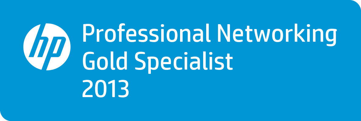 HP Professional Networking Gold Specialist